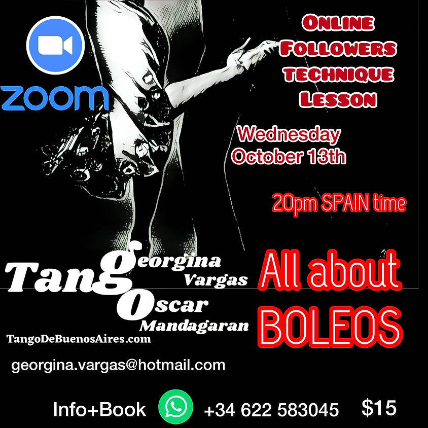 BOLEOS - All about Boleo's TECHNIQUE for FOLLOWERS