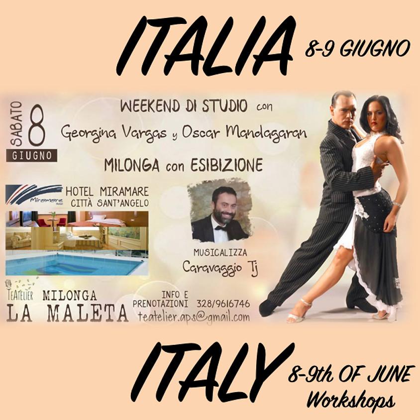 Weekend di Studio a in Italia 8-9 Giugno