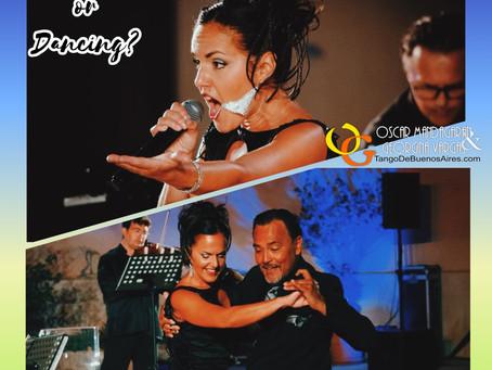 Cantante o bailarina?