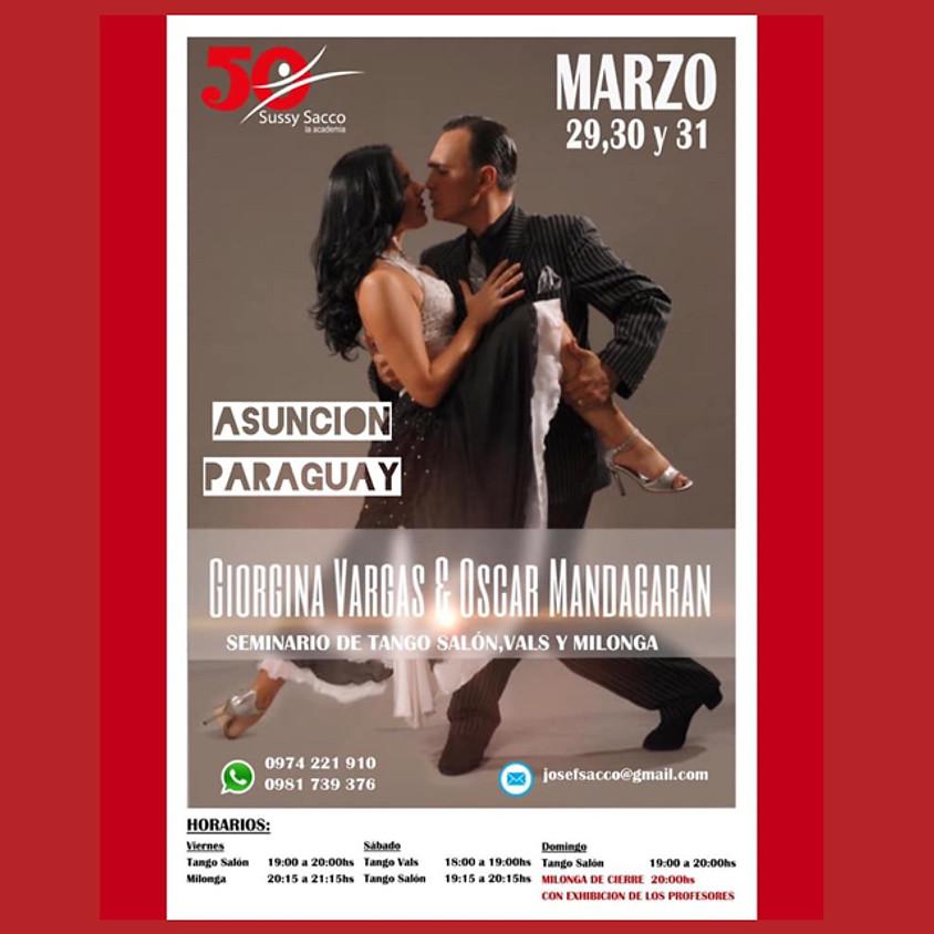 Seminarios en Asuncion de Paraguay 29-30-31 Marzo