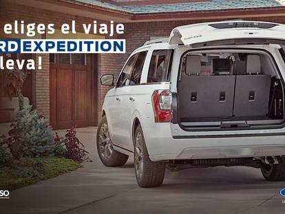 TU ELIGES EL VIAJE, FORD EXPEDITION TE LLEVA!!