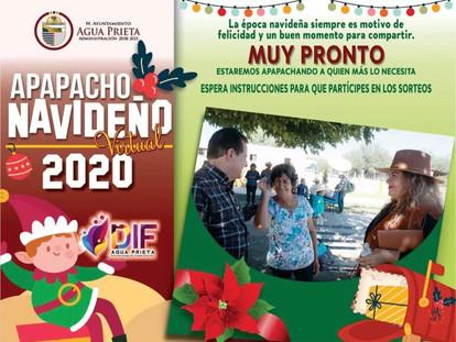 MUY PRONTO, APAPACHO NAVIDEÑO 2020.