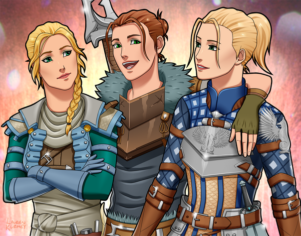 Inquisitor, Hawke, and Warden sm.png