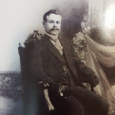 c1912 Benjamin Johan Nachtigal before his wedding perhaps in Wymysle