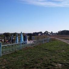 Cemetery at western edge of Antonowka village