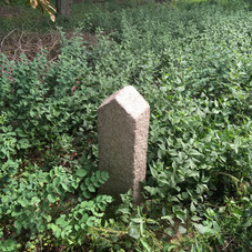 Grave marker in Jeziorki cemetery