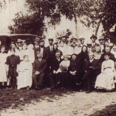 1914 Tobias Boese & Susie Ratzloff wedding, Burrton, KS