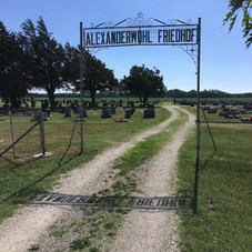 Alexanderwohl Cemetery, Goessel, KS