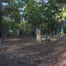 View in Jadwanin cemetery