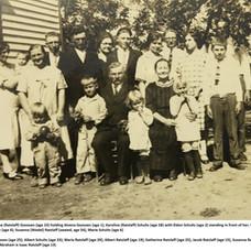 1927 Andreas Ratzlaff family, Kansas