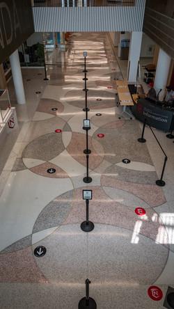 Normandale terrazzo floor