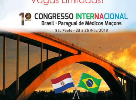 1º Congresso Internacional - 23 a 25 Nov / 2018