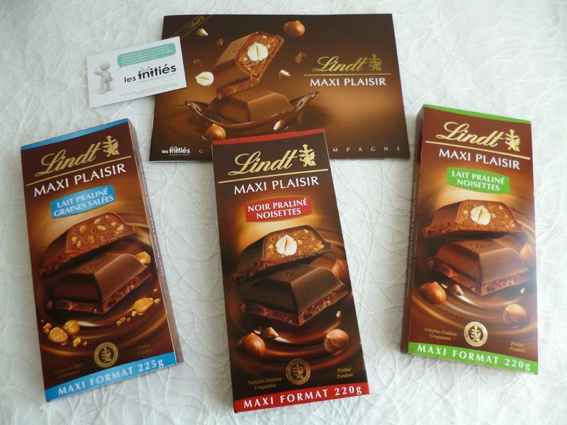 Lindt chocolat fourré