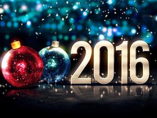 Bonne année et meilleurs voeux pour 2016