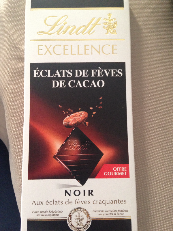 Lindt fèves de cacao