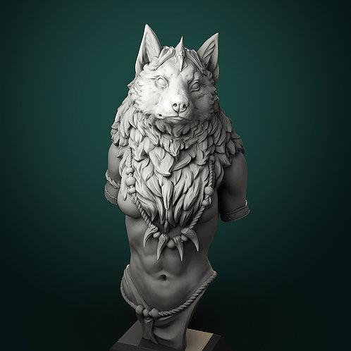 Oleanna Werewolf Queen Bust