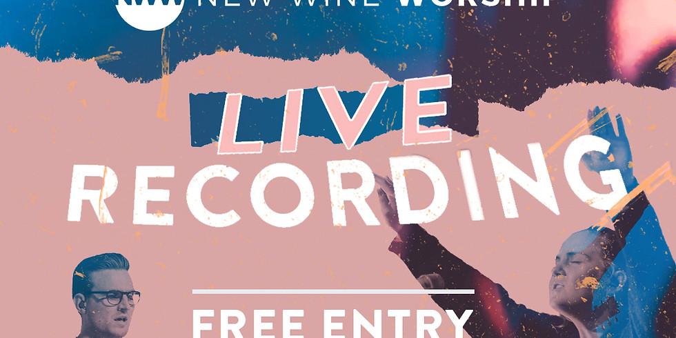 New Wine Album Live Recording - POSTPONED & RELOCATED