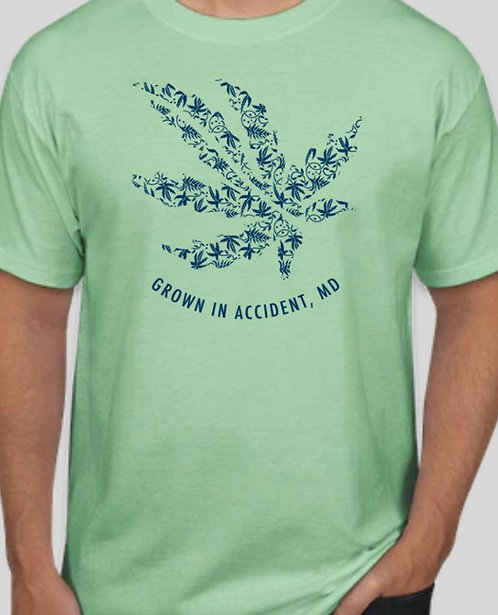 MMH Hemp Leaf T-Shirt