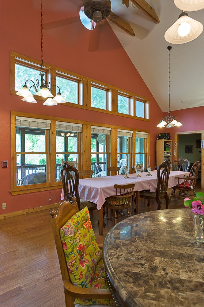 Southern Hospitality Home Dining Room with Natural Lighting