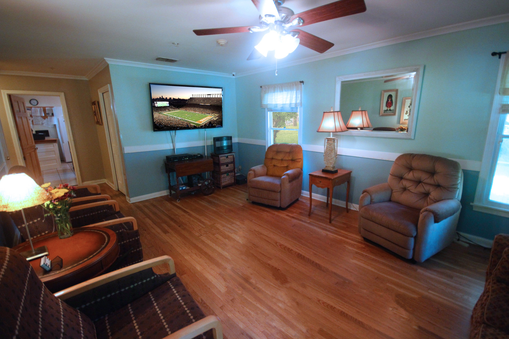 Southern Hospitality Home Recently Updated Media Room
