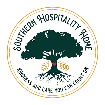 Southern Hospitality Home Emblem Kindness and care you can count on since 1996