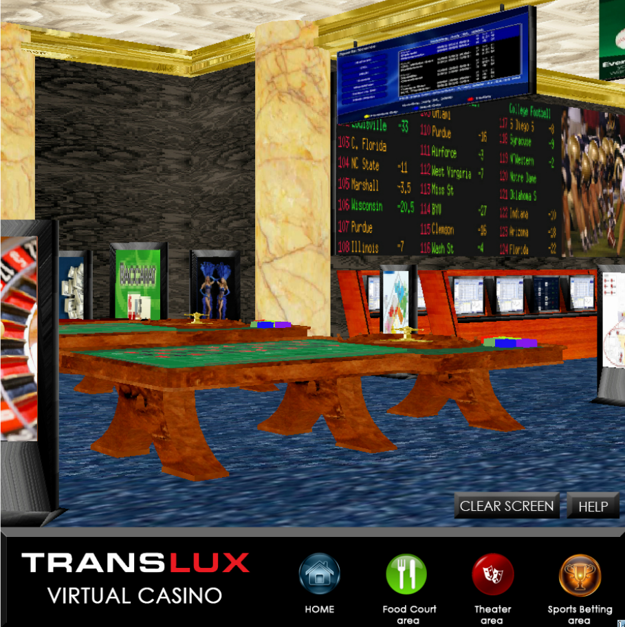 Casino Scoreboards