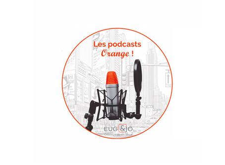 Découvrez les nouveaux podcasts Orange by Eug & Jo!