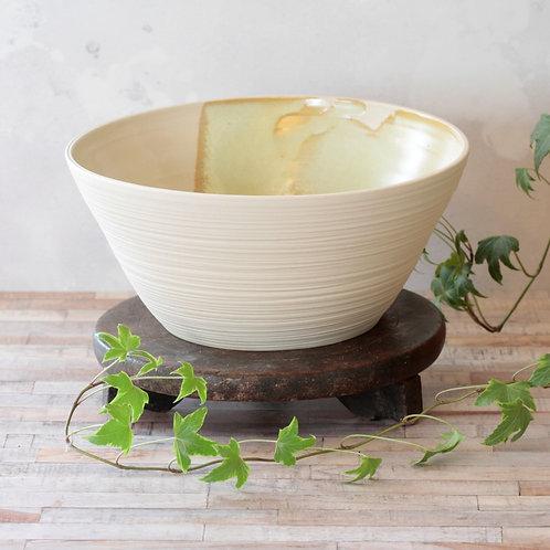 Large stoneware bowl