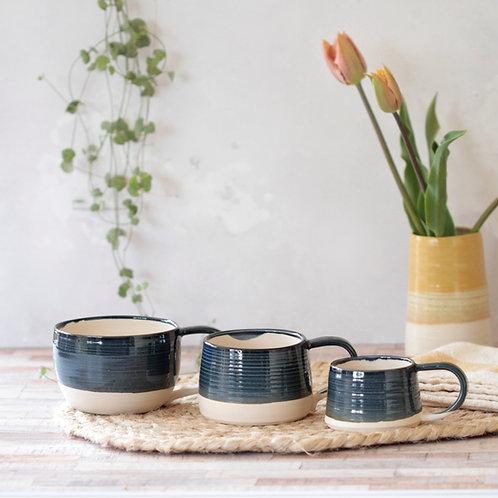 Stoneware espresso cup - various colours