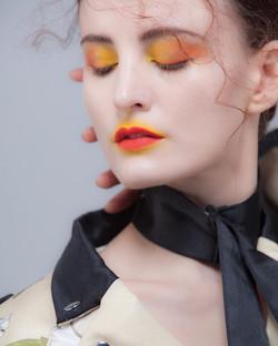 Fashion editorial makeup Milano 2018