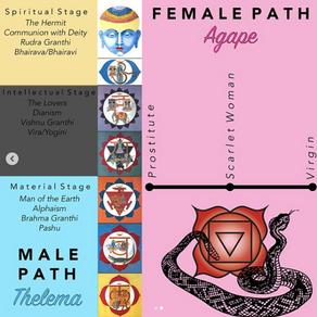 CLARIFYING MALE VS FEMALE PATH