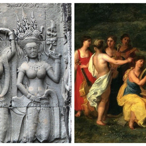 The Distraction of the Celestial Dancers | Mars & Rahu