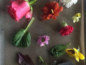 fiori eduli essiccati?