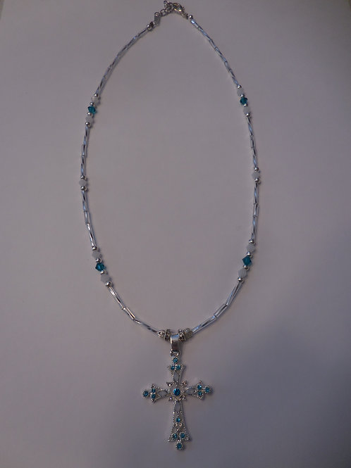 Cross Necklace  J227