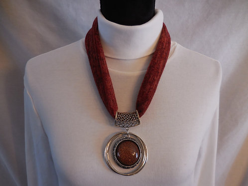 Rustic Stretch Necklace  SN003