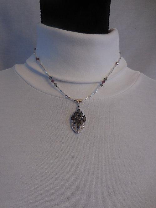Stone Pendant Necklace  NJ01