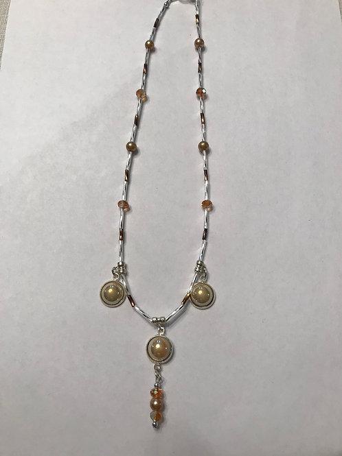 Creamy color Necklace CCN04