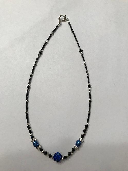 Dark blue Necklace DBN01