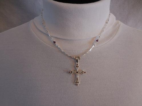 Cross Necklace  J226