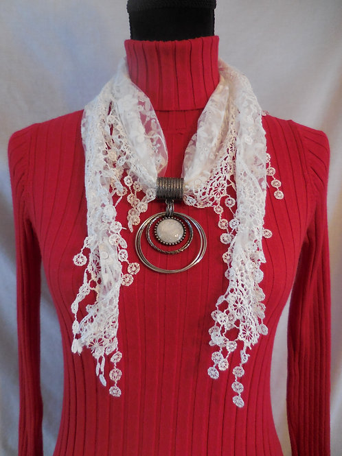 Shawl  Scarf Necklace  SSN1