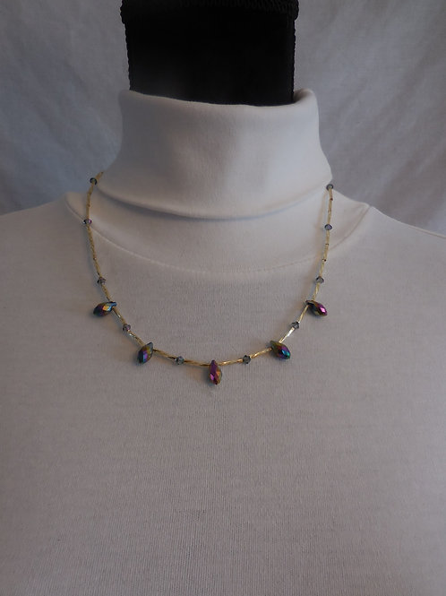 Multi color Necklace  N886