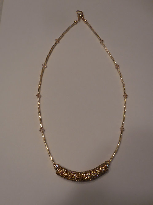 Gold Bar Necklace  GN001