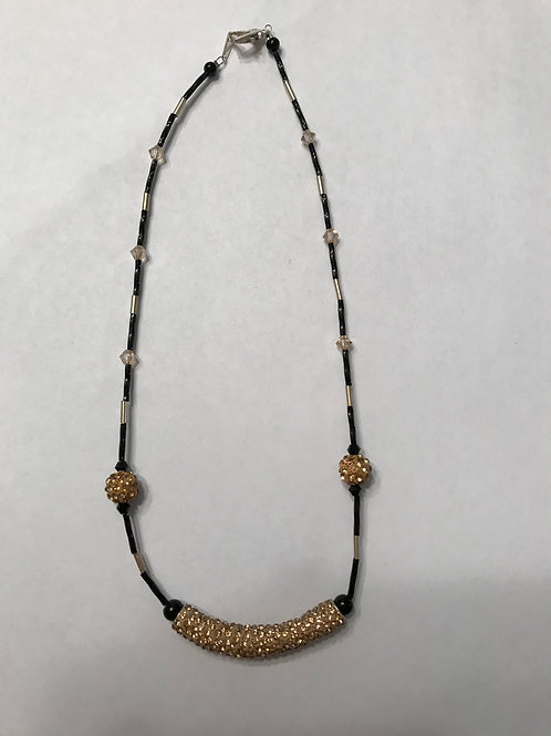 Gold Bar Necklace GBN07