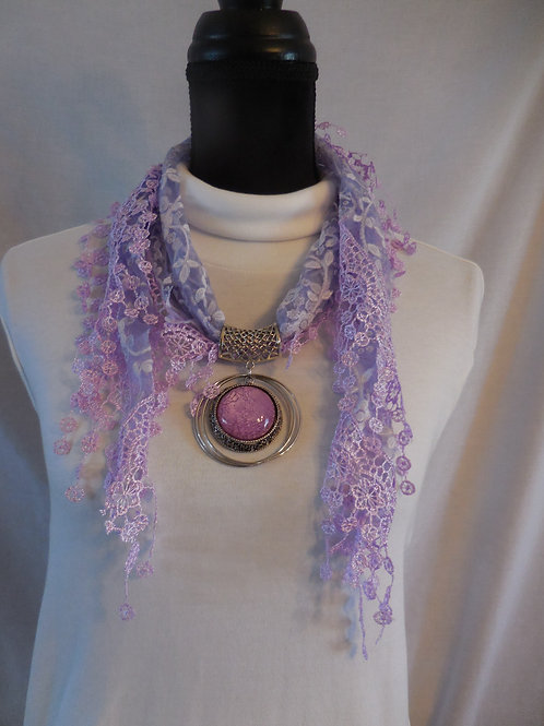 Shawl Scarf Necklace SSN3
