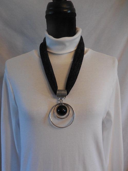 Black Stretch Necklace  SN777