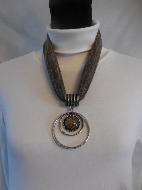 Brown Stretch Necklace  SN770