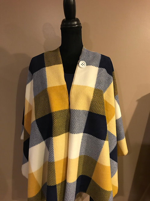 Plaid Cape PLC00