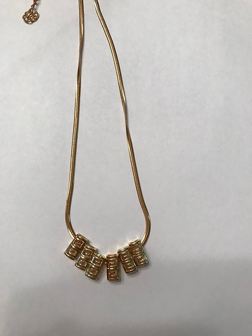 Gold Necklace on chain GCN03