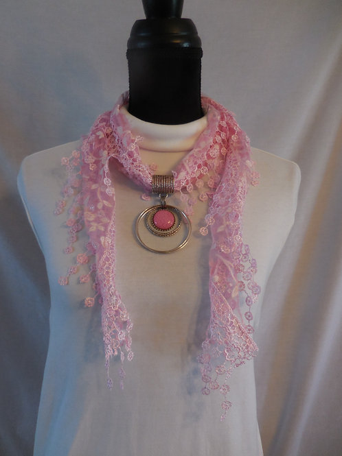 Shawl Scarf Necklace SSN2