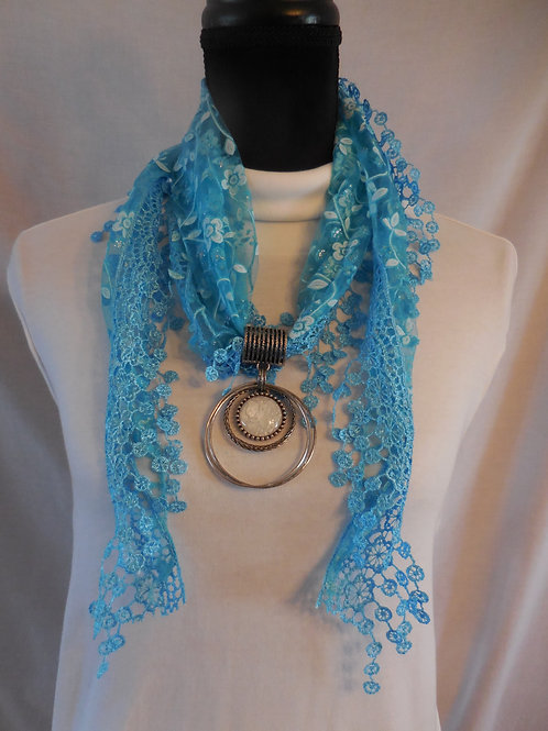 Shawl Scarf Necklace  SSN4